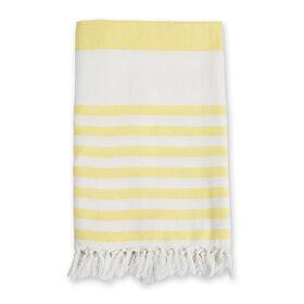 Lulujo Turkish Towel - Sunshine Yellow