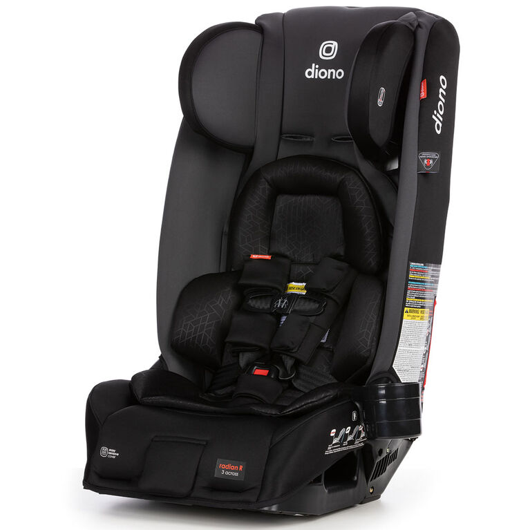 Diono Radian 3Rxt Allinone Convertible Car Seat-Grey