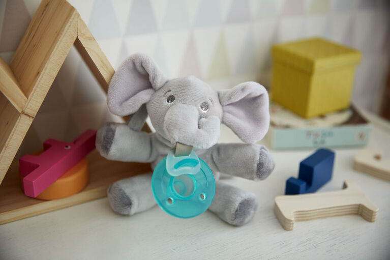 Philips Avent Soothie Snuggle - 0m+, Elephant