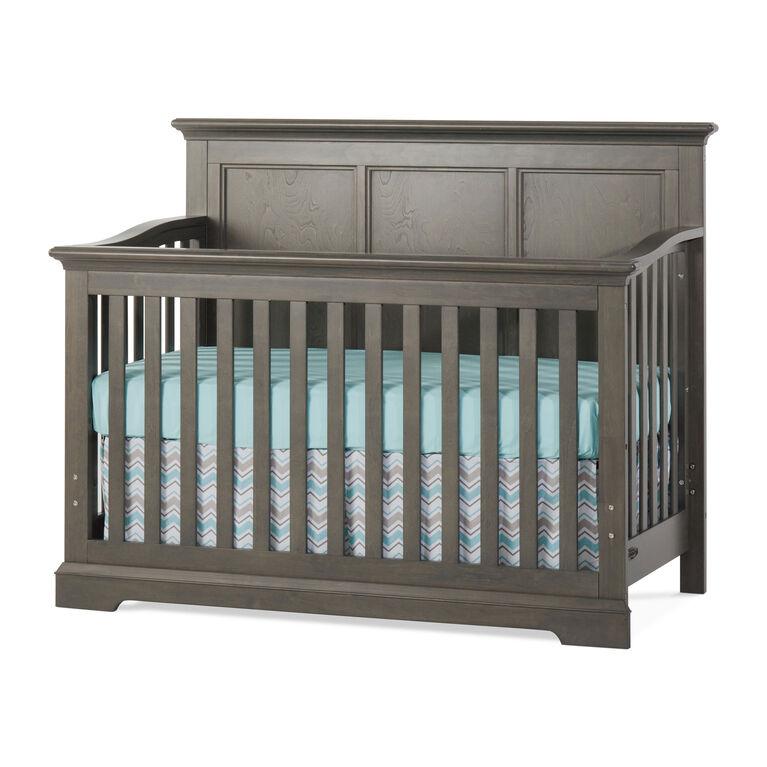 Lit de bébé Convertible 4-en-1 Kelsey de Child Craft - gris.