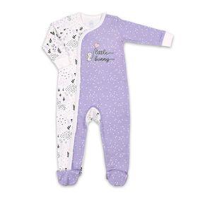 Dormeuse Koala Baby en coton de couleur lavande Little Bunny, 0-3M