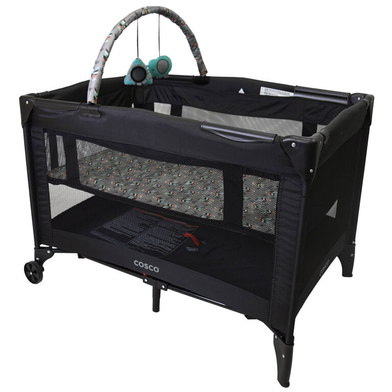 Cosco Funsport Playard Deluxe-Etched Arrow.