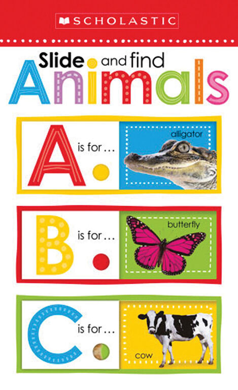Scholastic Early Learners: Slide and Find ABC Animals