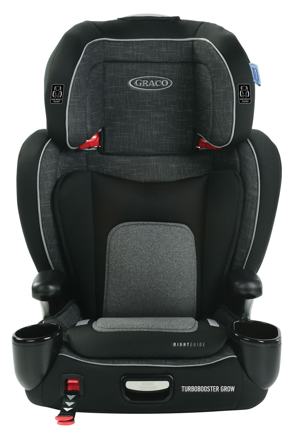West Point Graco TurboBooster Grow High Back Booster Seat Featuring RightGuide Seat Belt Trainer