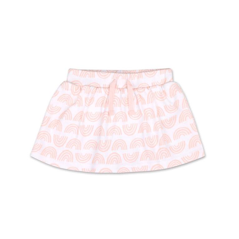 Koala Baby Rainbow Print Tennis Skirt, 3-6 Months