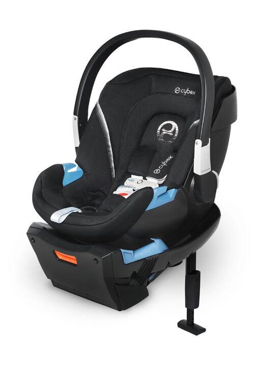 Siège auto pour bébé Cybex Aton 2 avec SensorSafe - Noir volcanique