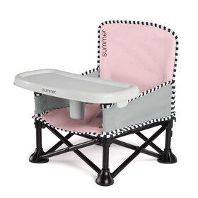 Summer Infant - Summer Pop 'n Sit SE Booster -Sweet Life Edition - Bubble Gum