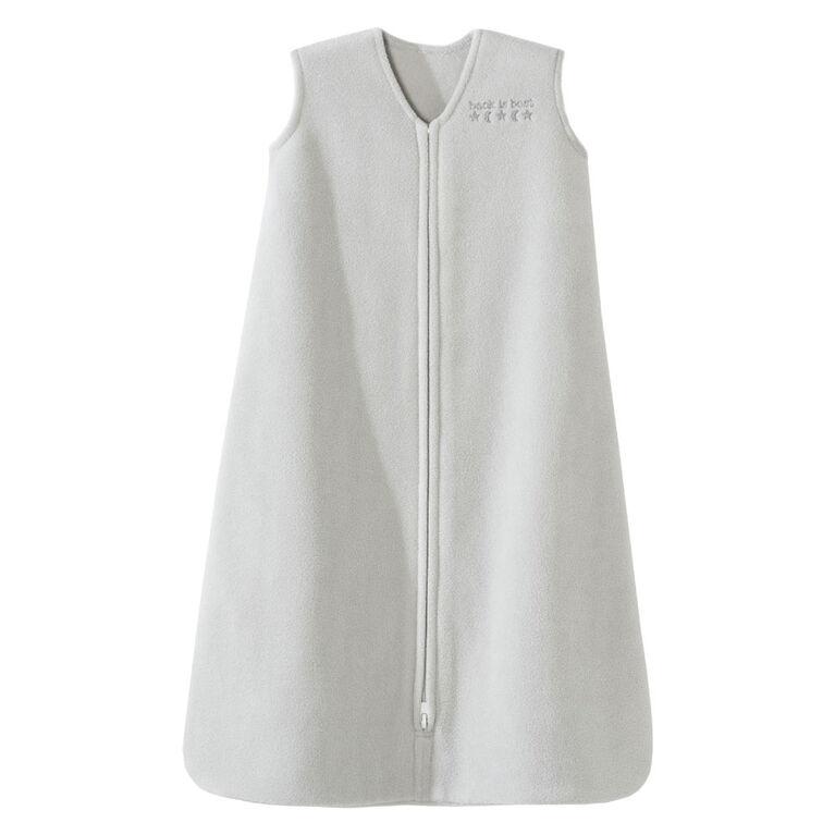 HALO SleepSack wearable blanket - Solid Grey - Micro-fleece - Large