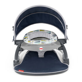 Fisher-Price On-the-Go Sit-Me-Up Floor Seat Citron Wedge