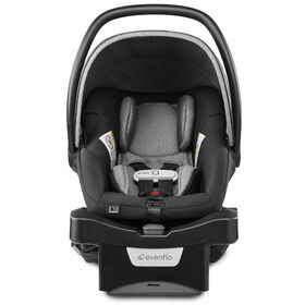 Evenflo GOLD SensorSafe LiteMax DLX Smart Infant Car Seat with SafeZone Load Leg, Moonstone - R Exclusive