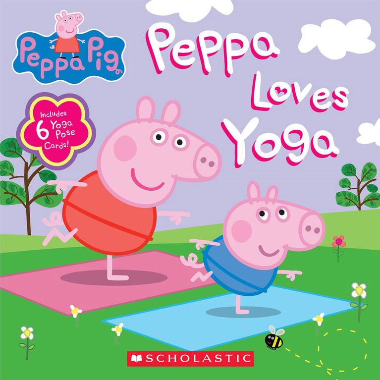Scholastic - Peppa Pig: Peppa Loves Yoga