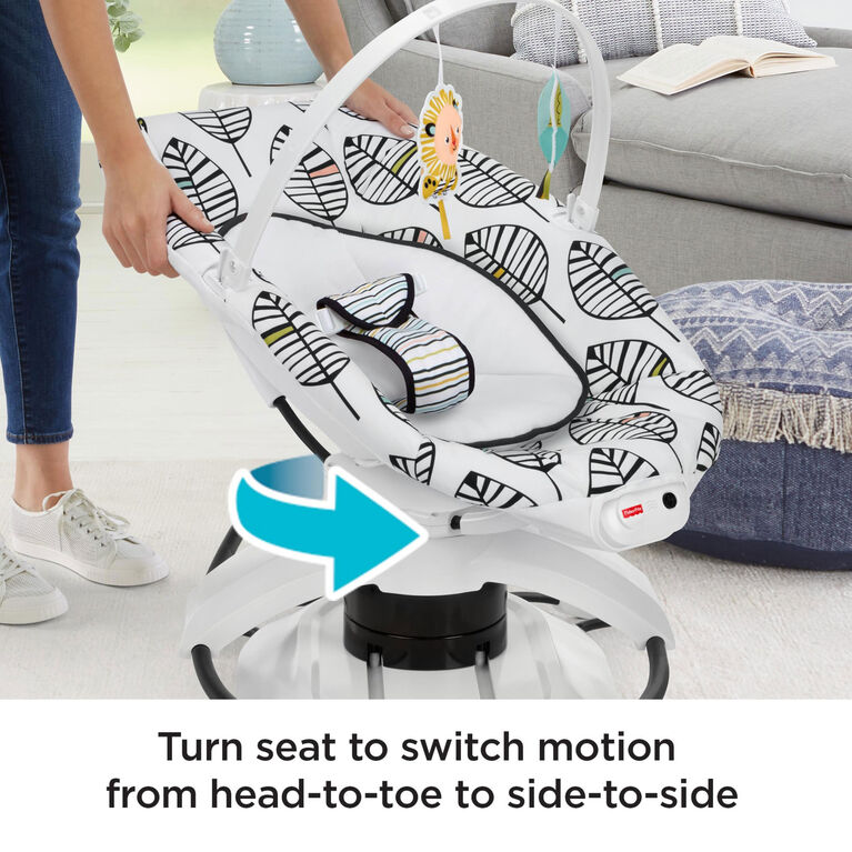 Fisher-Price 2-in-1 Soothe 'n Play Glider Plus - Falling Leaves - R Exclusive