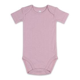 Koala Baby Short Sleeved Bodysuit - Muted Berry, Newborn