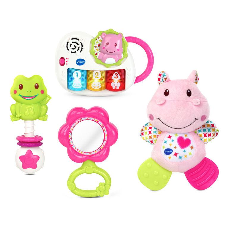 Vtech Newborn Necessities Gift Set Pink French Edition