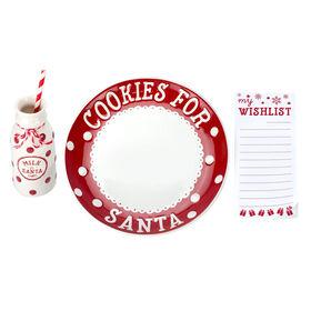 Ensemble à biscuits du père Noël Pearhead