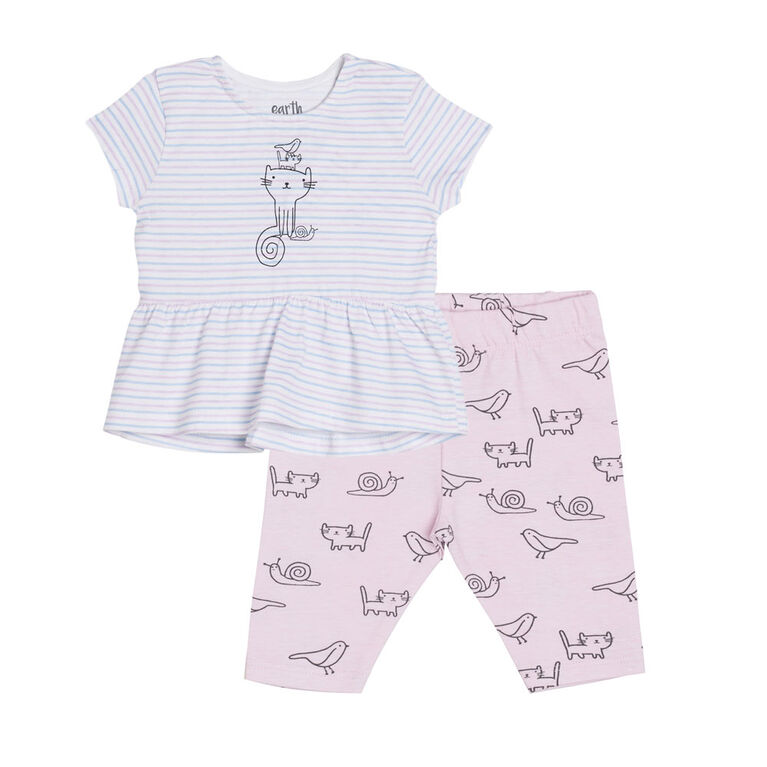 earth by art & eden Eloise 2-Piece Set- 6 months