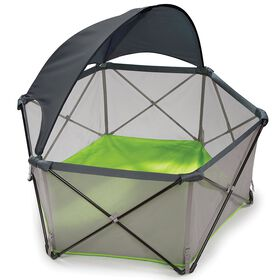 Le parc pour enfant suprême Pop 'n Play de Summer Infant - Lime.