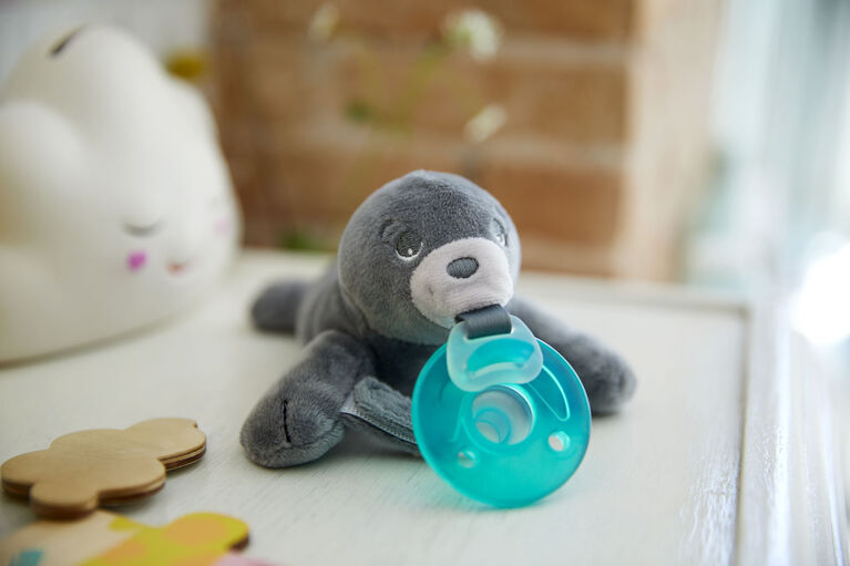 Philips Avent Soothie snuggle - 0-6 Months, Seal