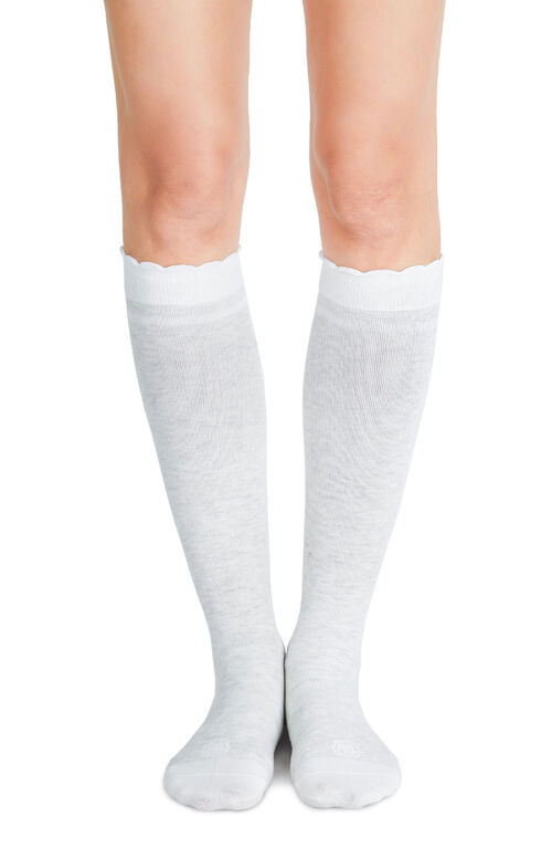 Belly Bandit Compression Socks Dove White Size 1