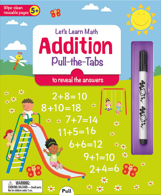 I Can Do It! Addition Wipe Clean - English Edition
