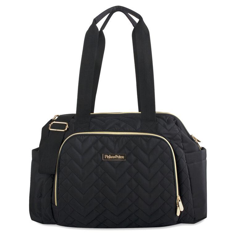 Fisher Price Harper Diaper Bag Black