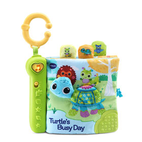 VTech Turtle's Busy Day Soft Book - English Edition
