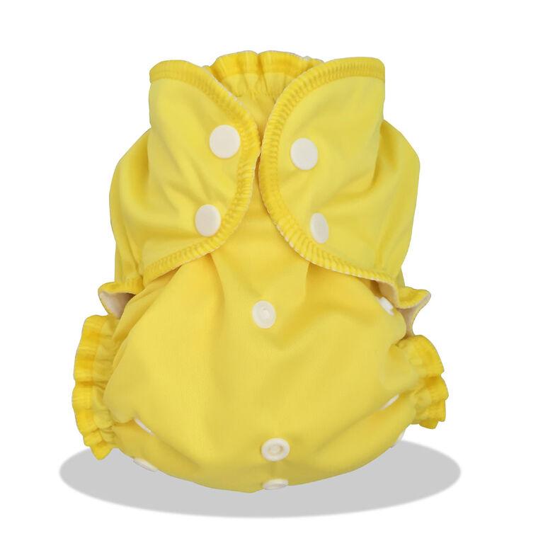 AppleCheeks Diaper Covers One-Size Lemon Zest