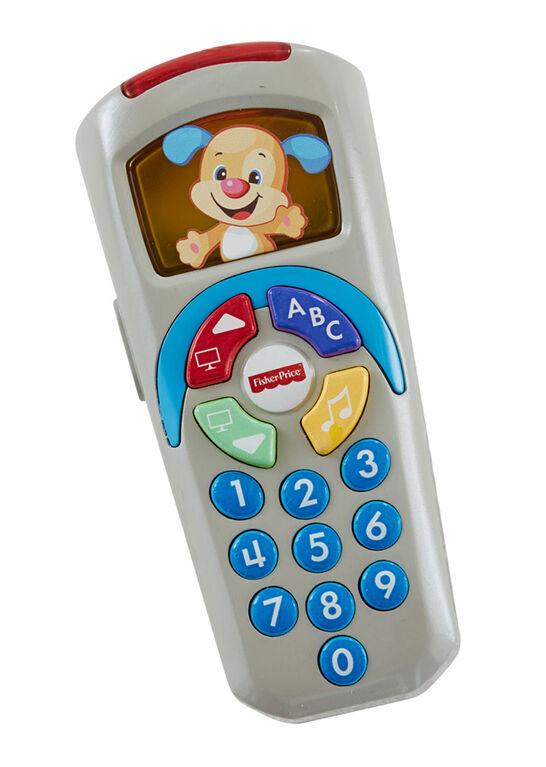 Fisher-Price Rires et Éveil – La Télécommande de Puppy – Édition anglaise