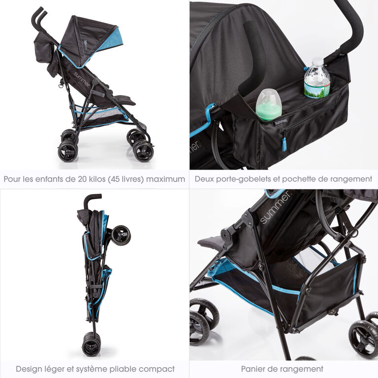 Summer Infant 3Dmini Convenience Stroller - Blue