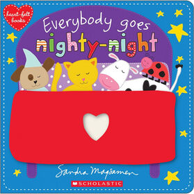 Heart-Felt Books: Everybody Goes Nighty-Night - Édition anglaise