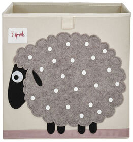 3 Sprouts Storage Box - Sheep.