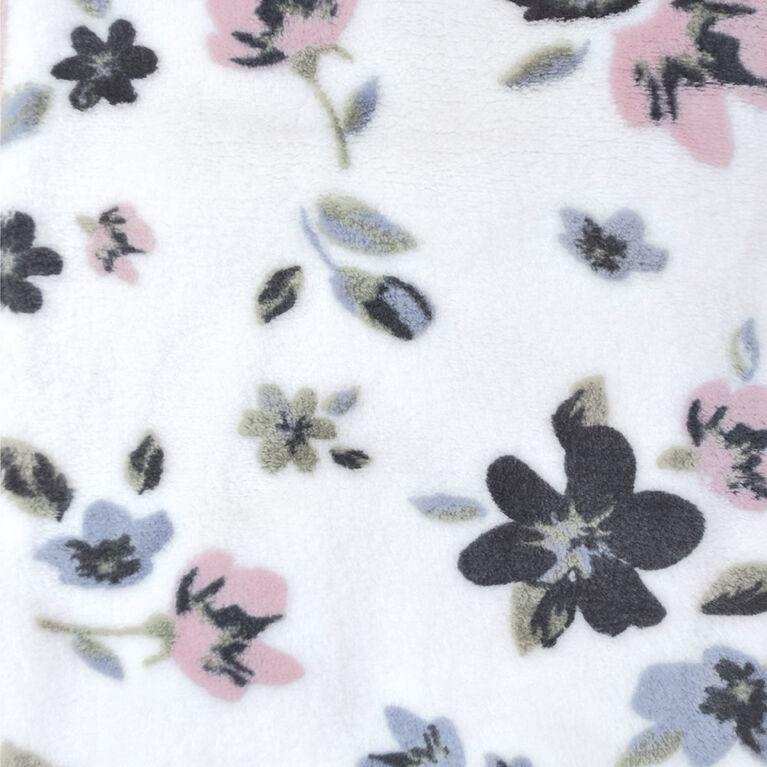 Perlimpinpin - Sac de nuit peluche - Fleurs 0-6