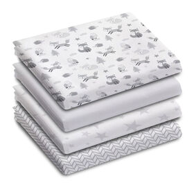 Koala Baby 100% Cotton Flannel Receiving Blanket