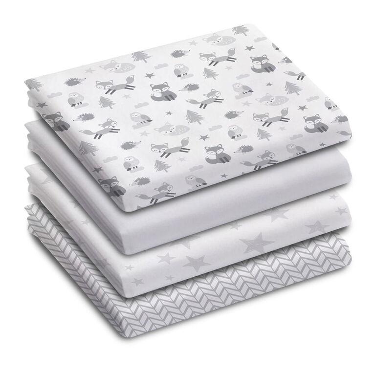 Koala Baby 100% Cotton Flannel Receiving Blanket