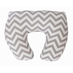 Jolly Jumper Baby Sitter Nursing Cushion - Grey Chevron