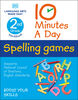 10 Minutes a Day Spelling Games, 2nd Grade - Édition anglaise