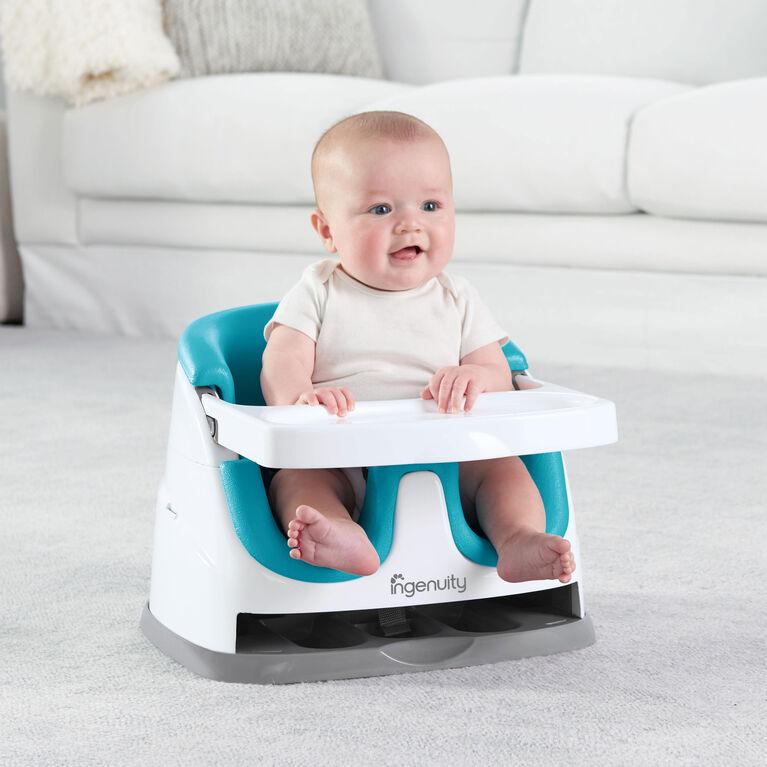 Baby Base 2-in-1 Siège de Ingenuity - bleu Paon.