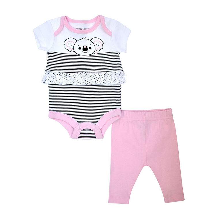 Fisher Price ensemble Pantalon - Rose, 9 mois