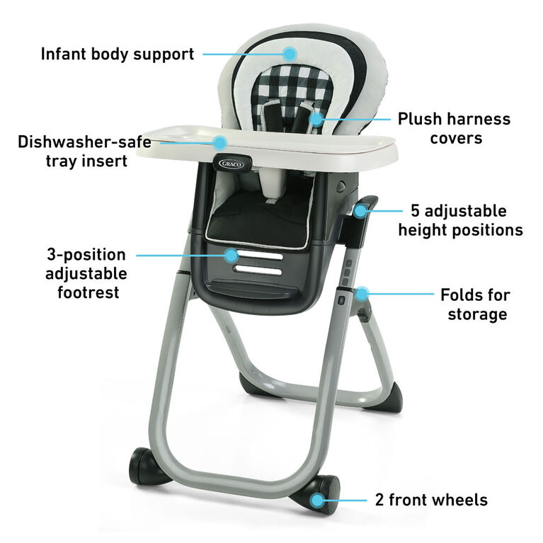 Graco Duodiner DLX Highchair - Kagen