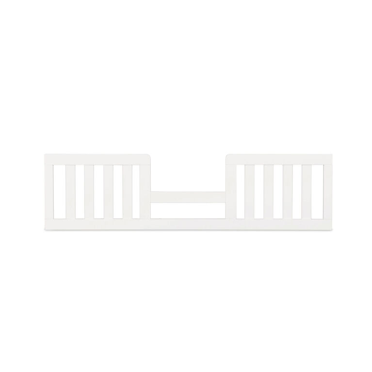 Child Craft Forever Eclectic™ SOHO Toddler Guard Rail - White/Natural||Child Craft Forever Eclectic™ SOHO Toddler Guard Rail - White/Natural