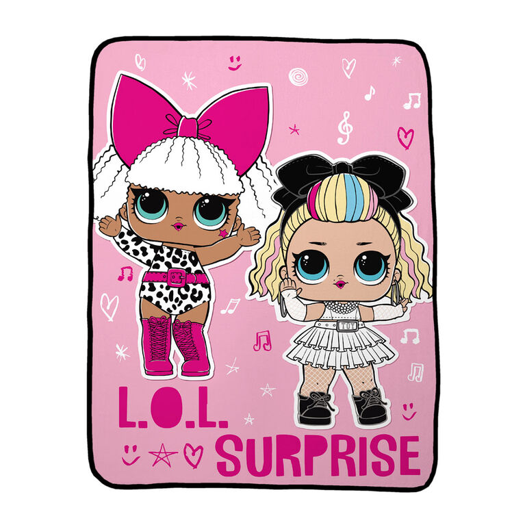 """L.O.L. Surprise! """"Heart Notes"""" Throw"""