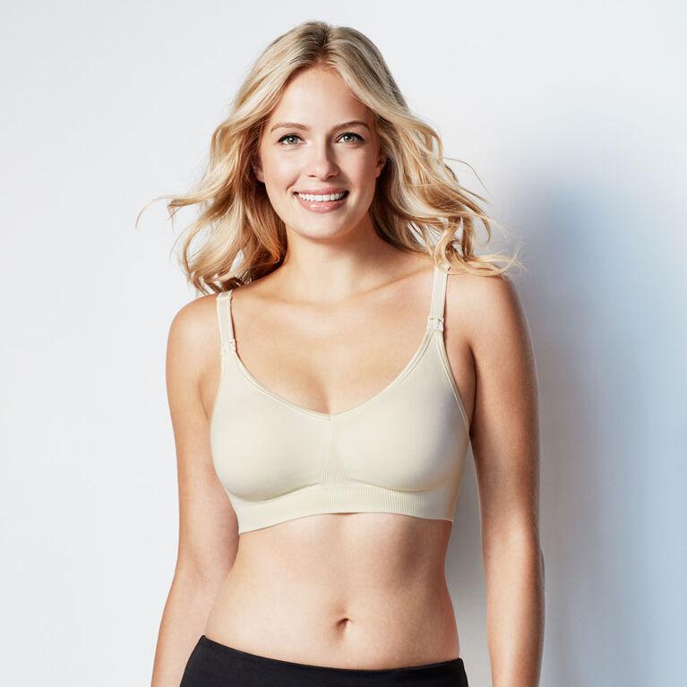 Bravado Designs Body Silk Seamless Nursing bra - Black, Large