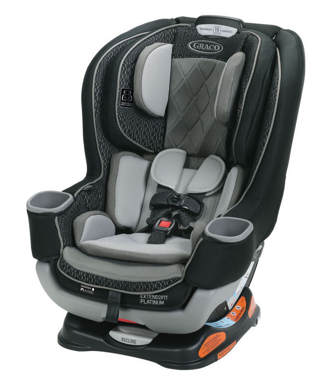 Graco Extend2Fit Platinum Convertible Car Seat – Hurley