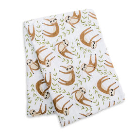 Lulujo - Couverture Moderne Sloth Swaddle