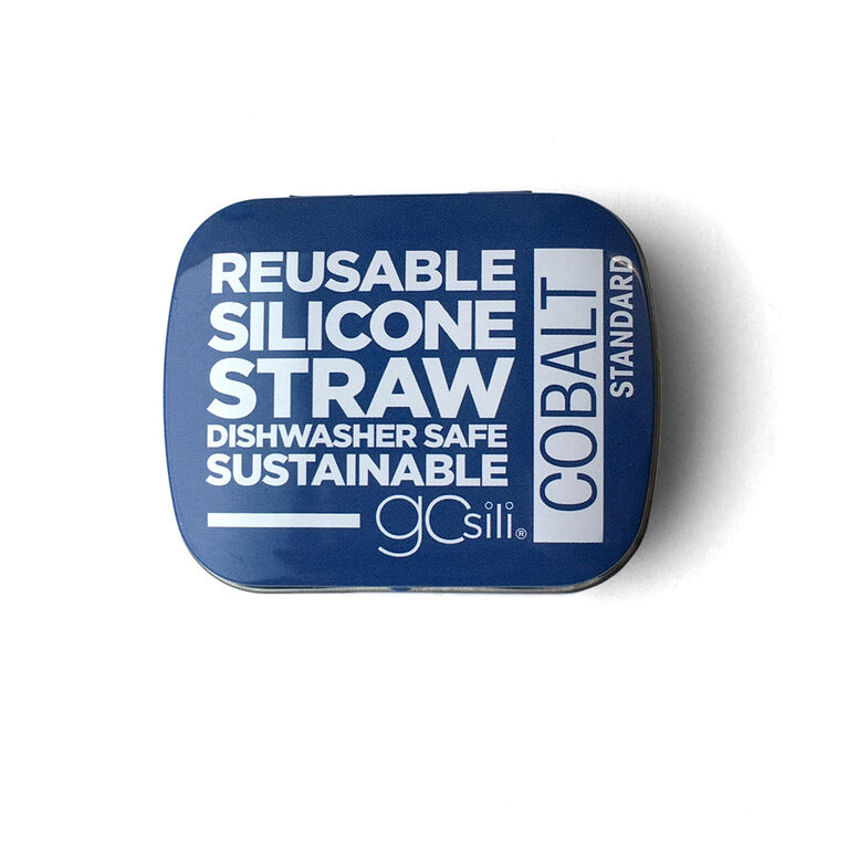 Silikids - Single Reusable Silicone Straw with Case