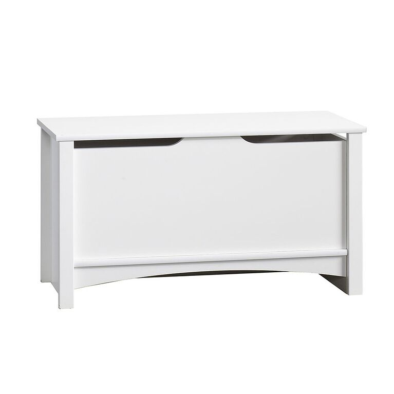 Child Craft storage chest, matte white finish