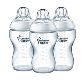 Tommee Tippee 11oz Added Cereal Closer To Nature Bottle - 3 pack