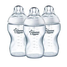 Biberon pour céréales 11oz Tommee Tippee Closer to Nature - paquet de 3.