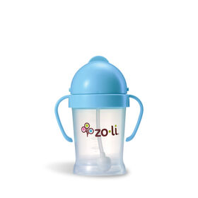 Zoli - Bot 6oz Straw Sippy Cup - Blue.
