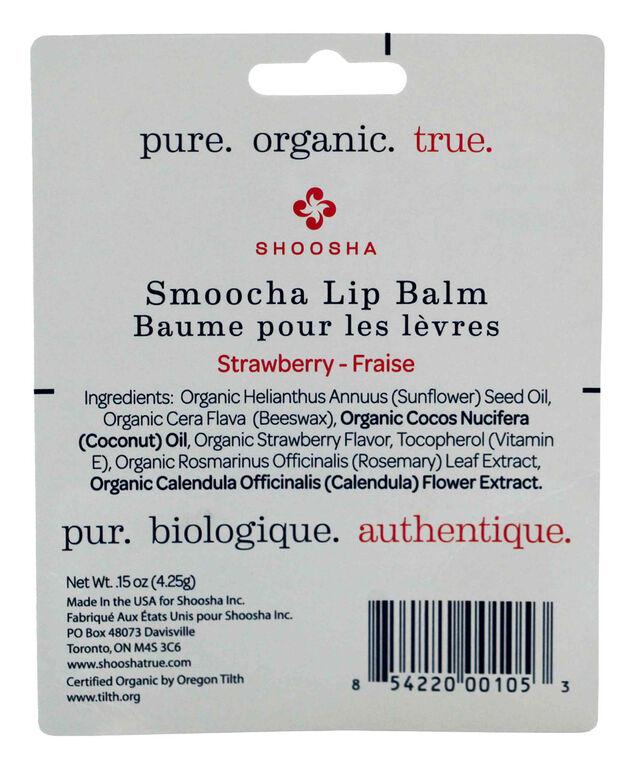 Shoosha Smoocha Baume pour les Lèvres - Fraise.